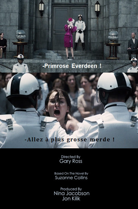 La faim des Hunger Games - meme