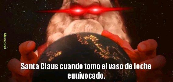 Santanás Claus ._. - meme