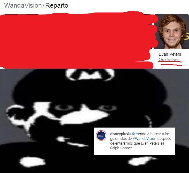 aun recuerdas wandavision!? >:C      es que no puedo olvidar la traición de marvel jsjsjsjs - meme