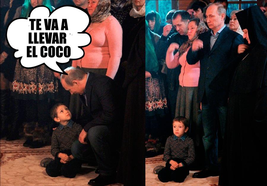 ¿Qué le dijo Putin? - meme