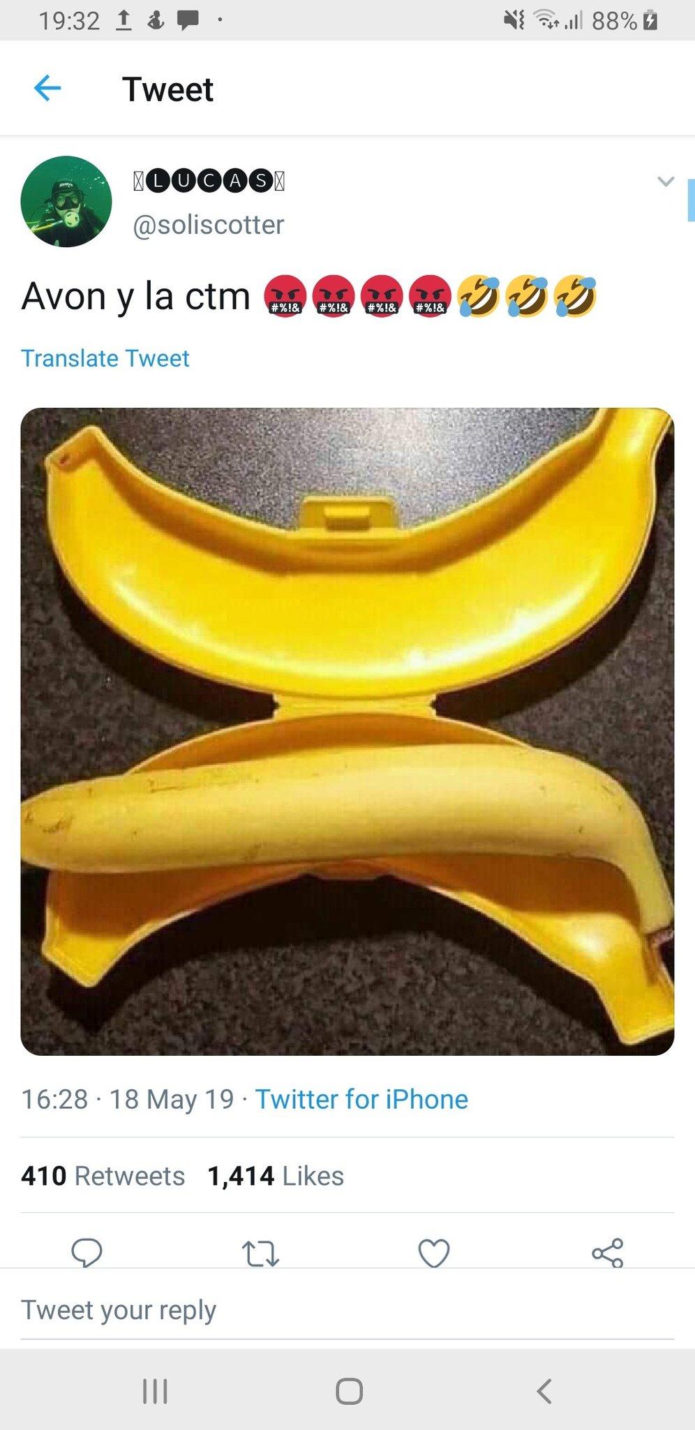 Plátano recto - meme
