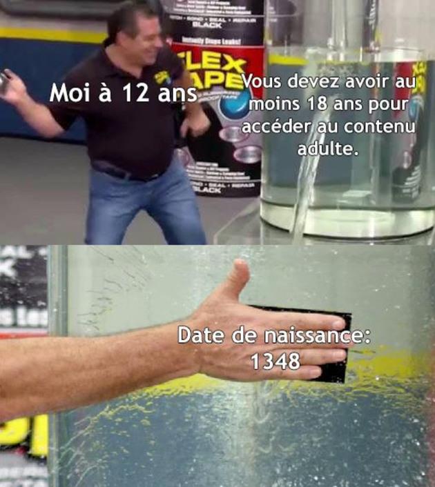 J'ai 700 ans - meme