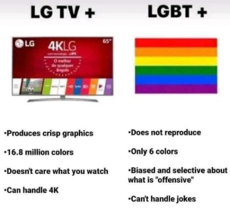 TV 4k - meme