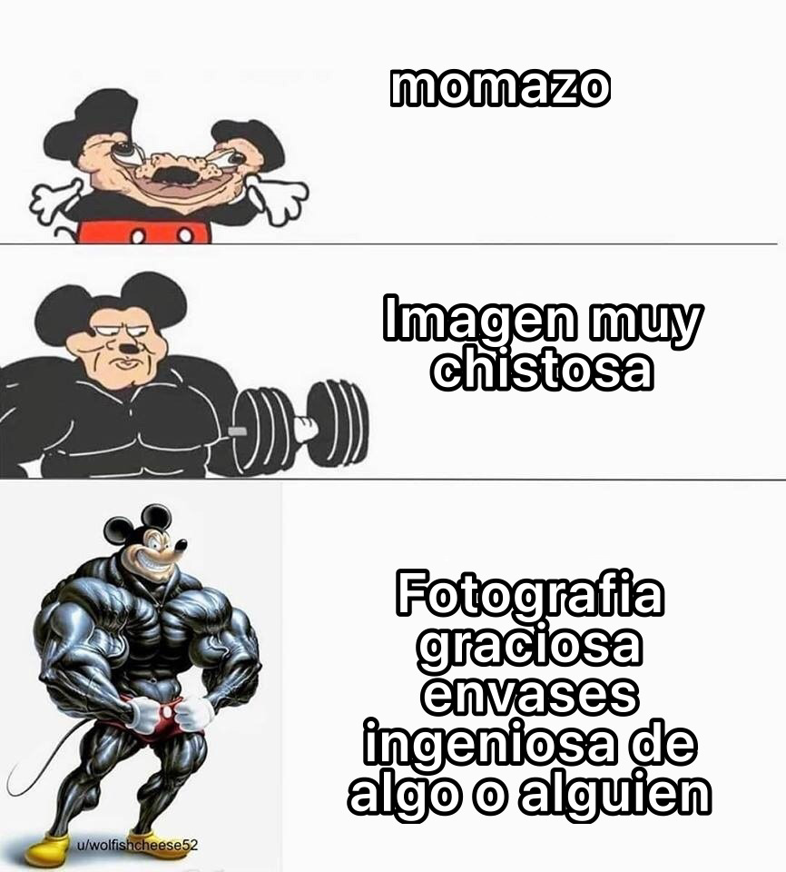 Micky - meme