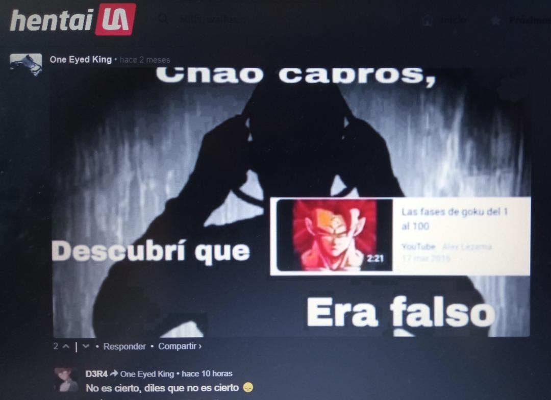 Nooooo es falso - meme