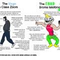 The virgin Troleo en zoom vs The chad Broma telefónica