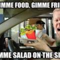 Gimme food PLZ