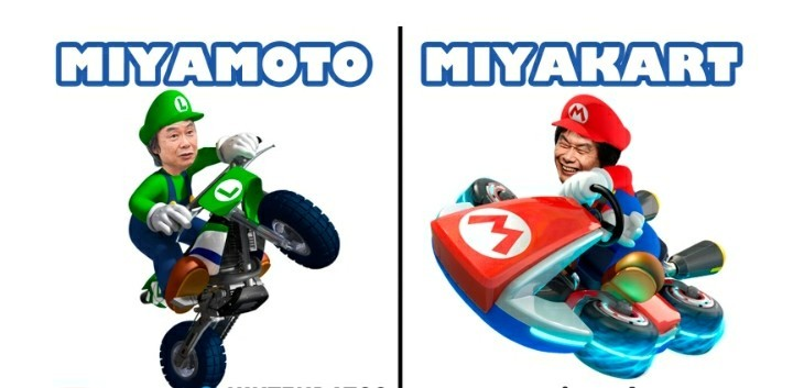 Bendito seas, Sr.Miyamoto - meme