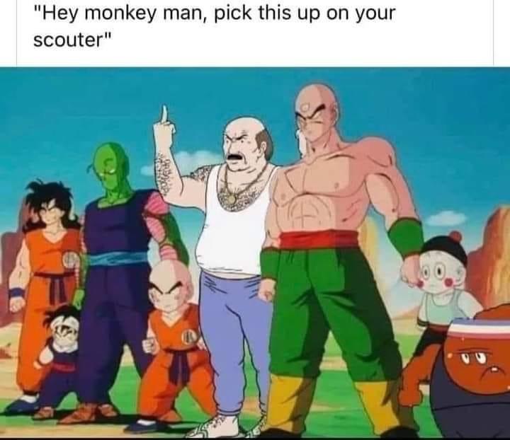 name a more powerful anime hero than carl - meme