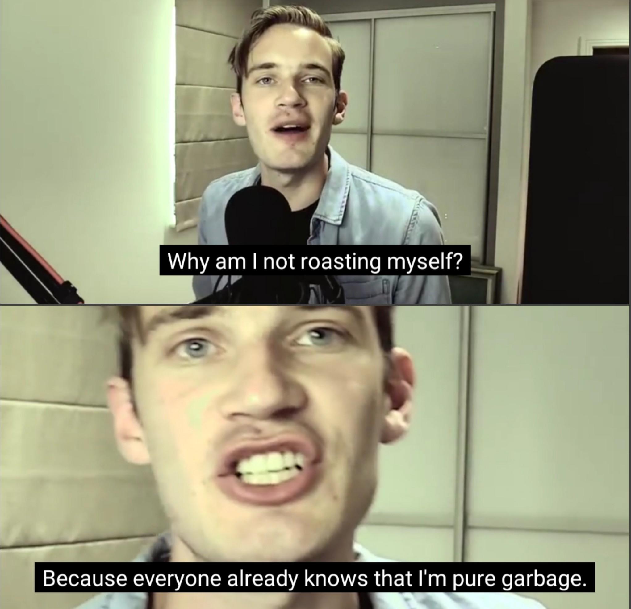 """""""My content is unorginal"""" - meme"""