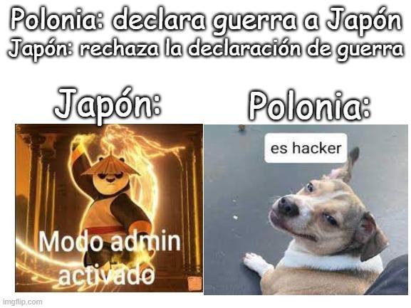 Japón le sabe - meme