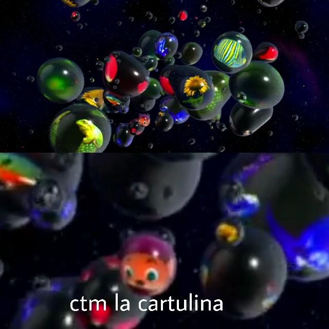 La cartulina - meme