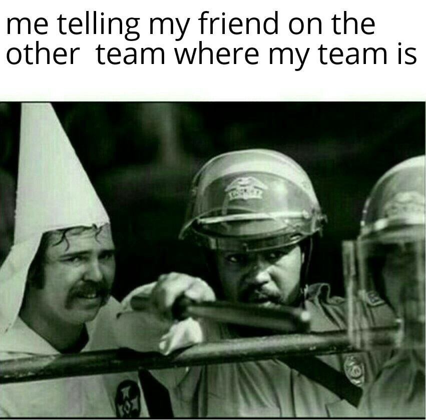 Now that's teamwork - meme