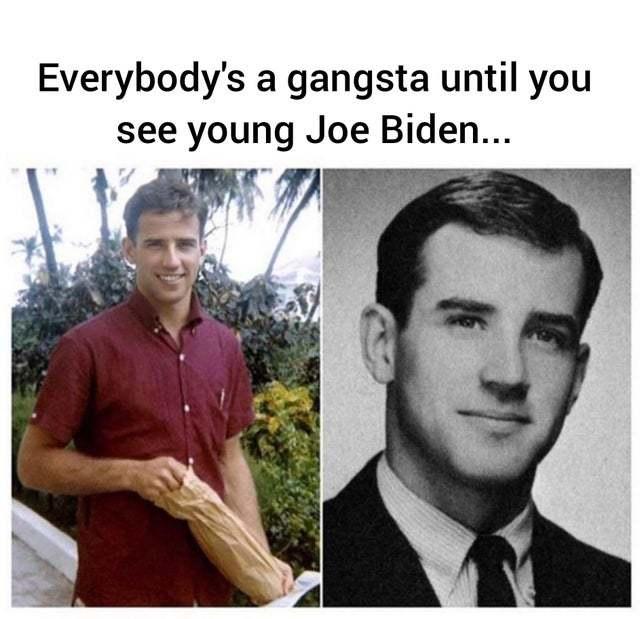 Young Joe Biden - meme