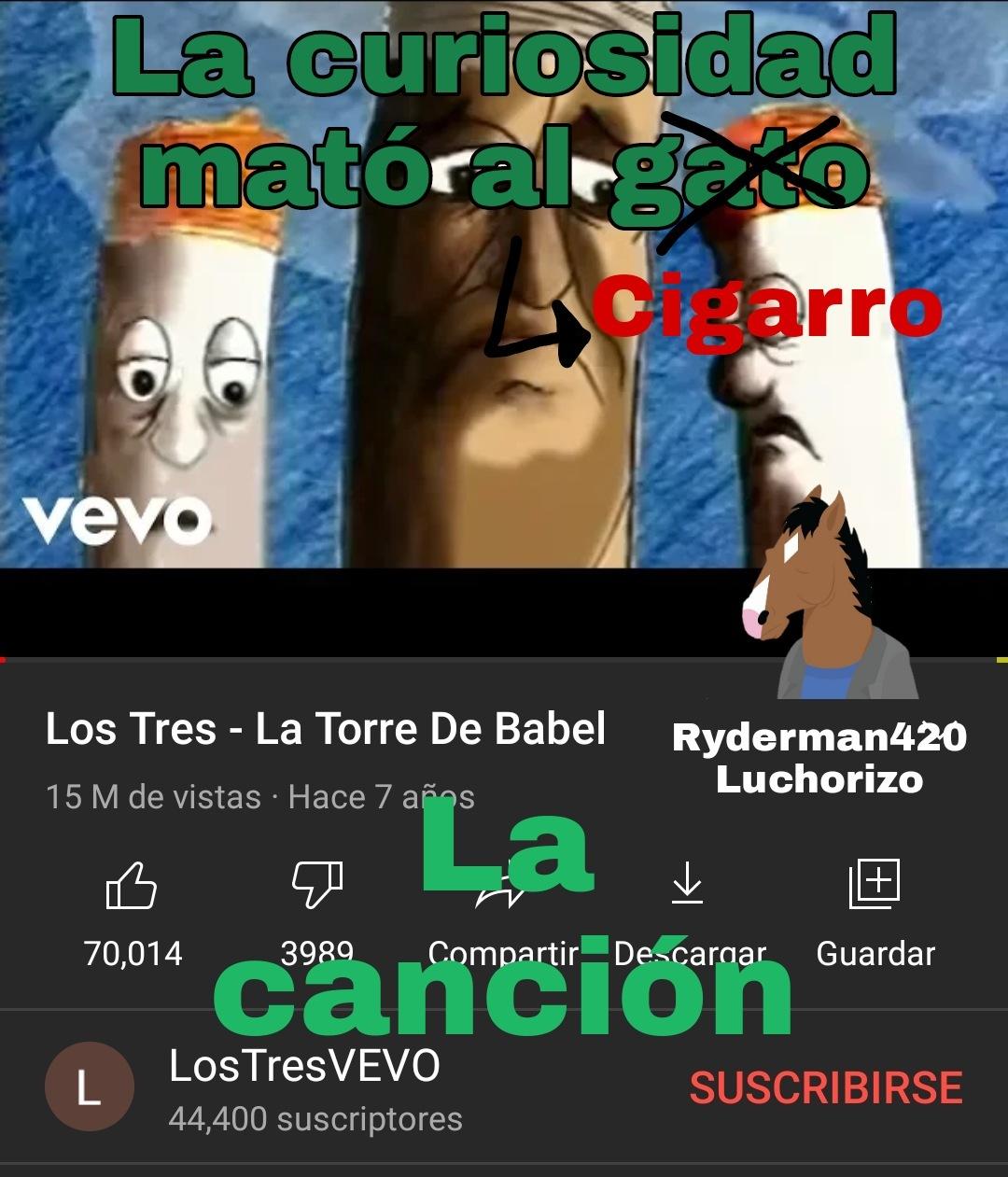 El contexto está en el video xd - meme