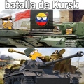 No está 100% apegado a la verdadera batalla ya que de igual forma la URSS perdió más tanques pero se entiende