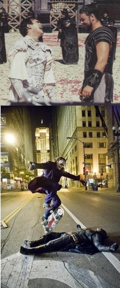 LEGENDARIO SONRÍEN-después phoenix interpreta joker - meme
