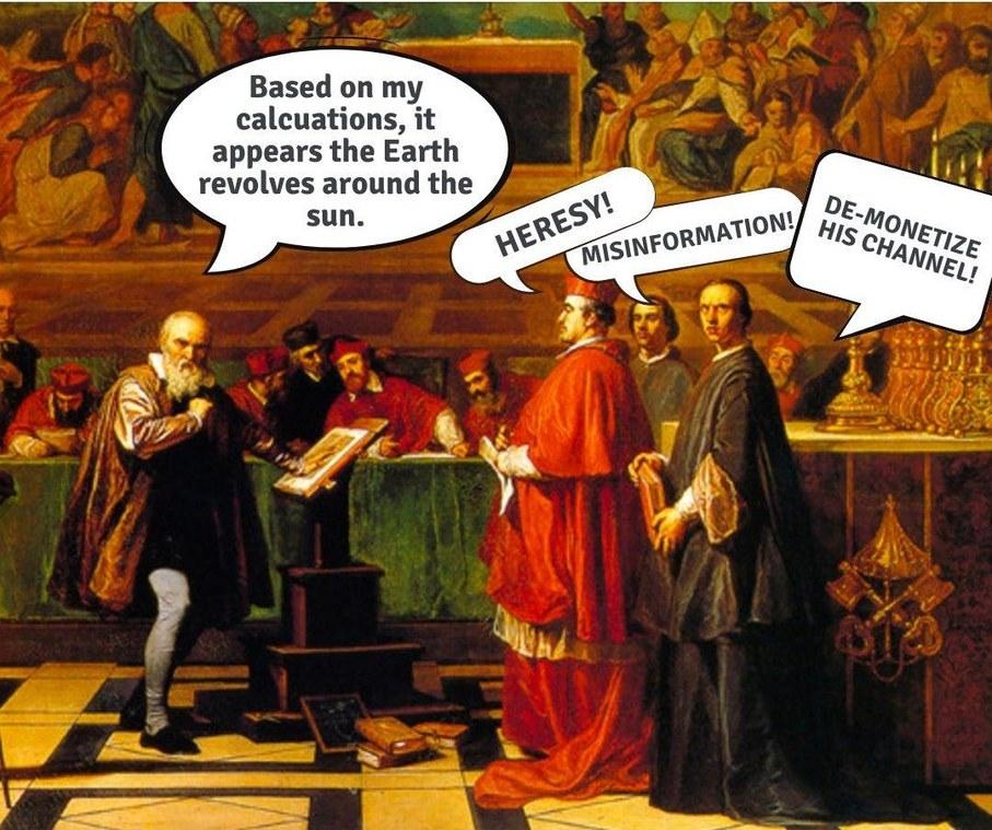 Fact checkers back then - meme