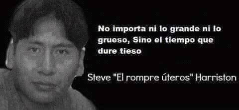 Steve el rompe uteros :v - meme