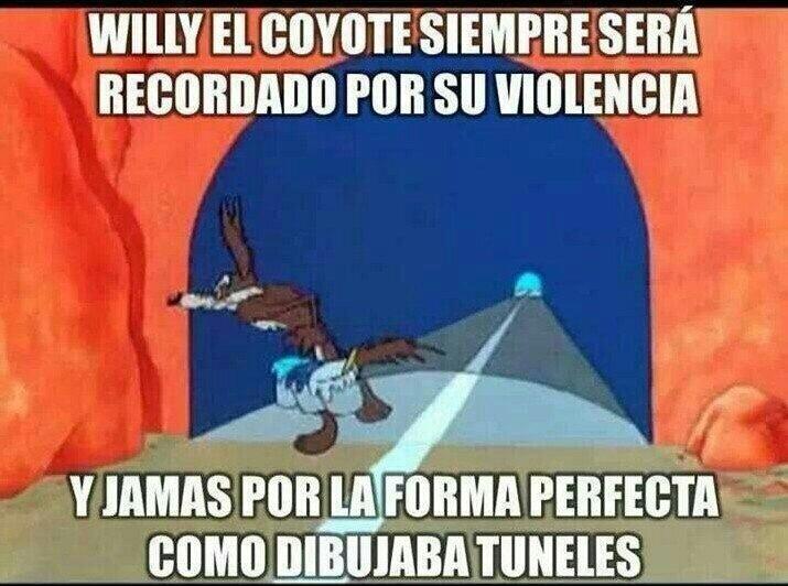 el coyote - meme