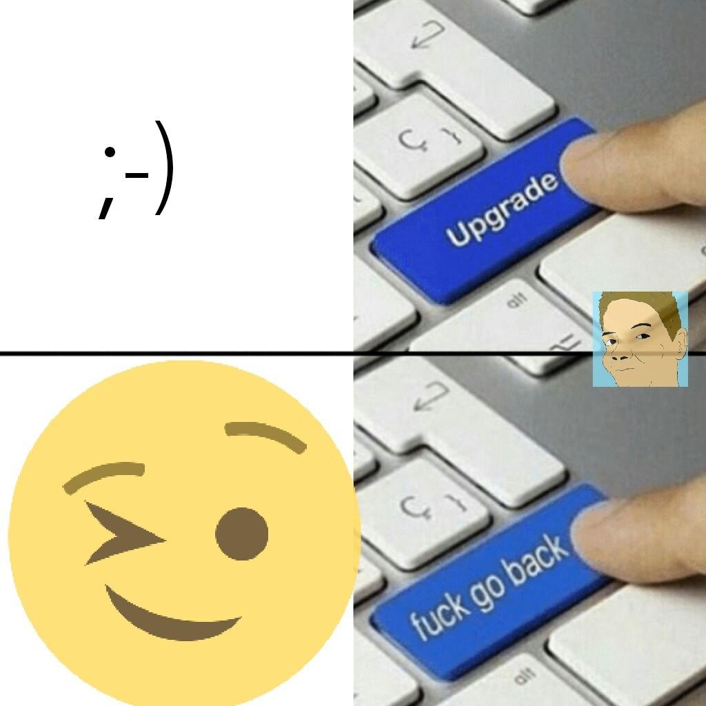 Emoji não! - meme