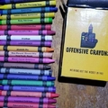 Offensive crayons for offensive artists