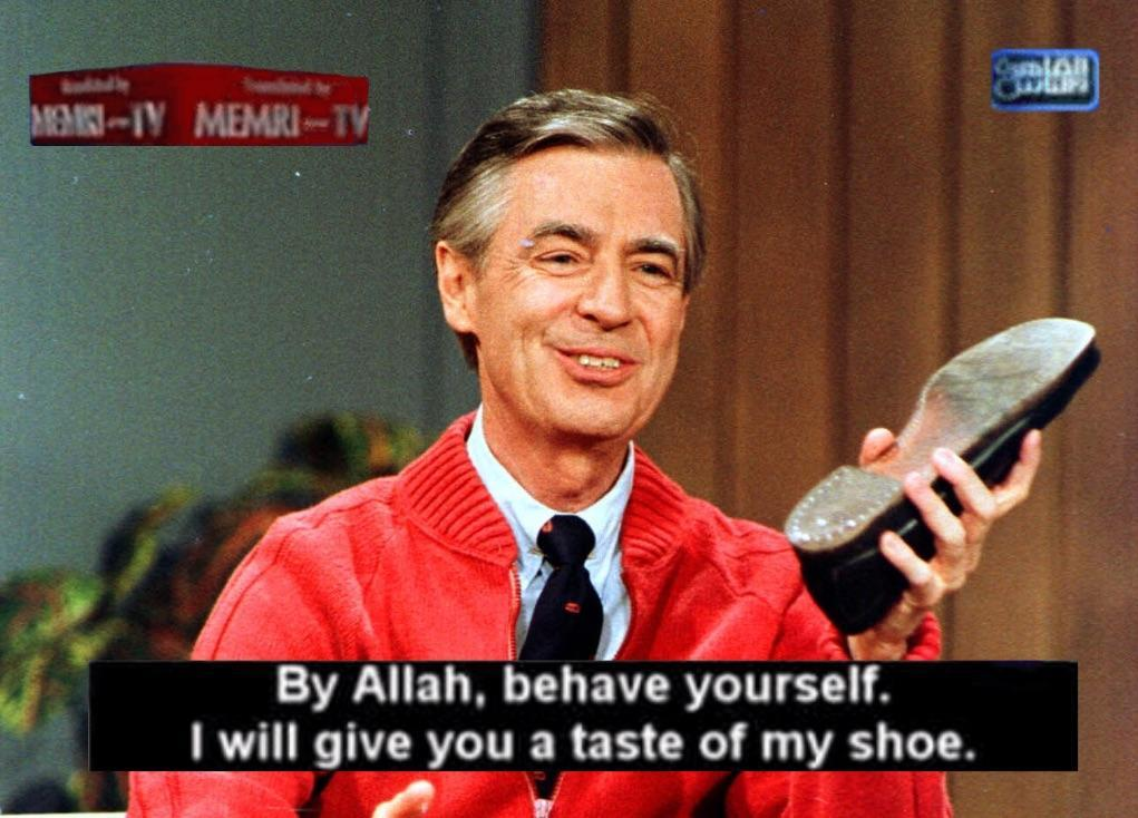 Based mr rogers - meme
