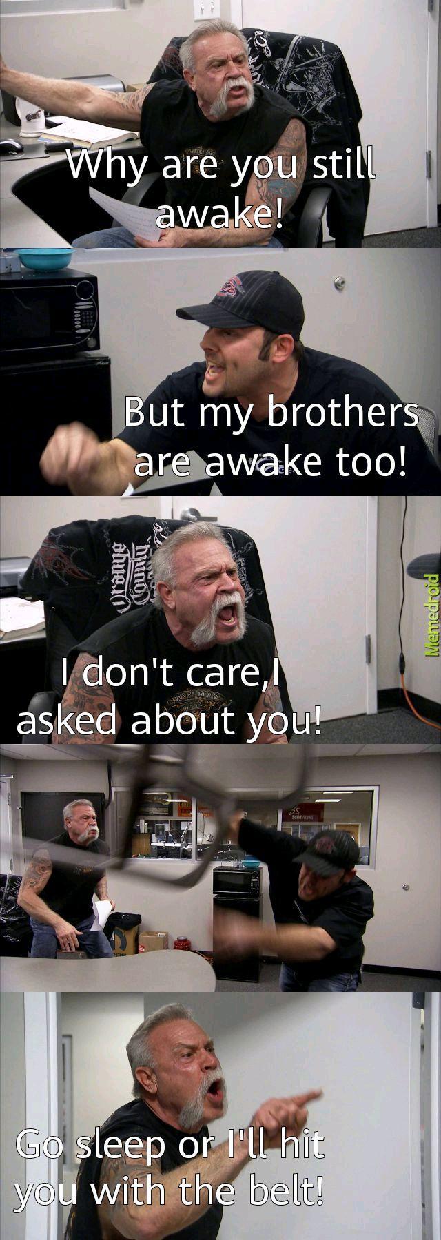 Dads and logic - meme
