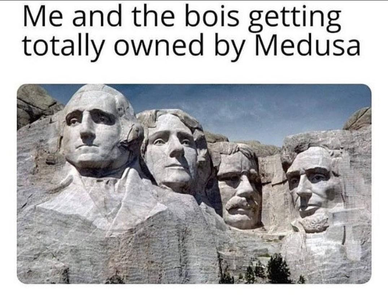 Medusa - meme