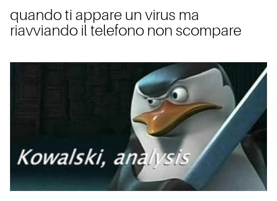 analisi - meme