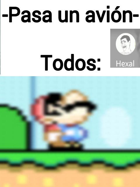 No se si ya lo hicieron con Mario - meme