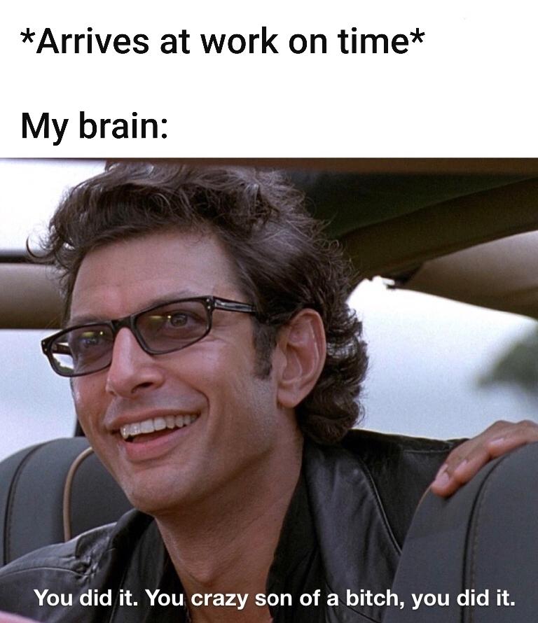 Time Clock, Time Glock - meme