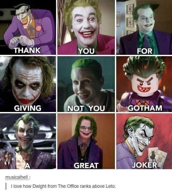Love Mark Hamill as the Joker - meme
