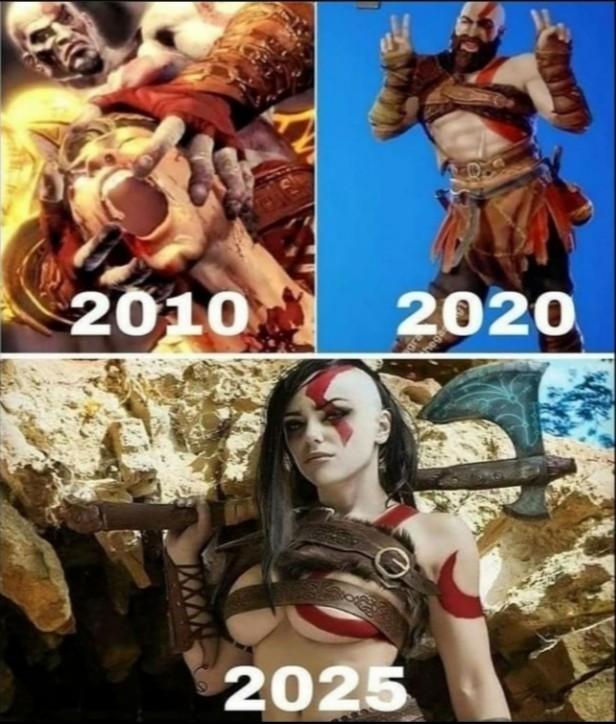 Kratos nooo - meme