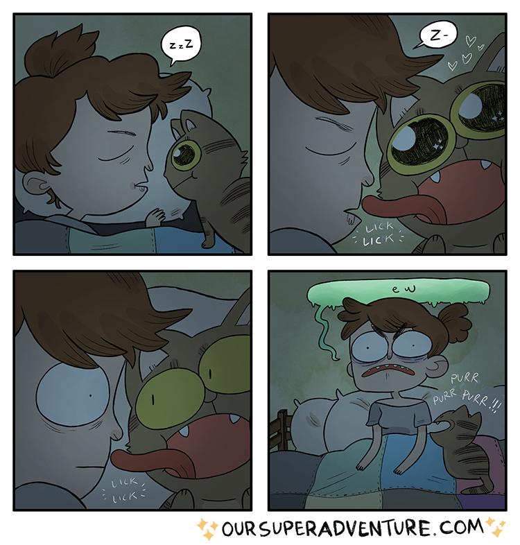 I love cats (no homo) - meme