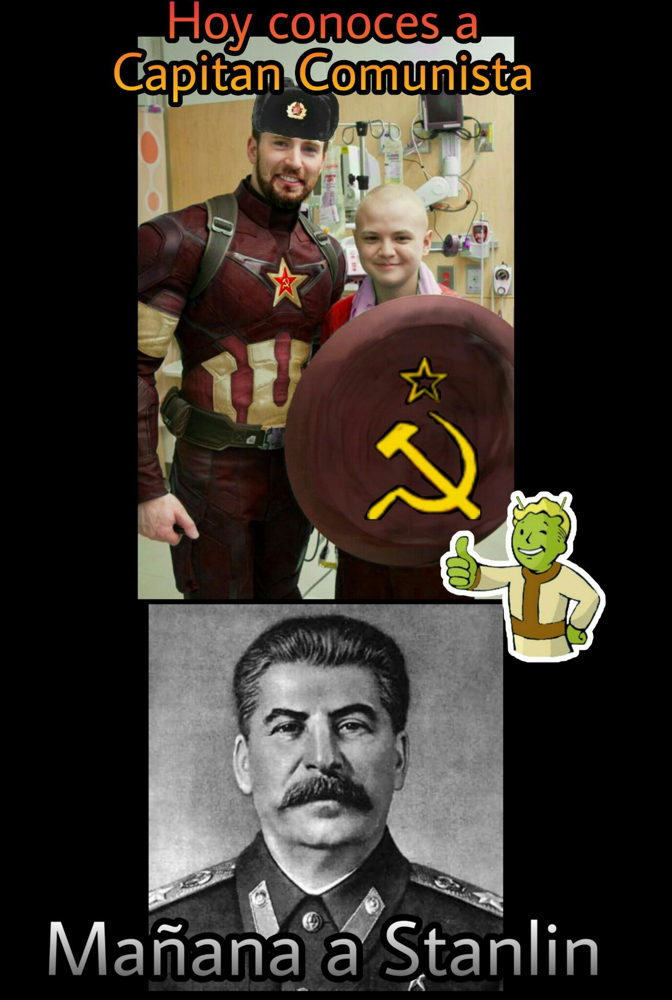 Llamad al liberty prime! - meme