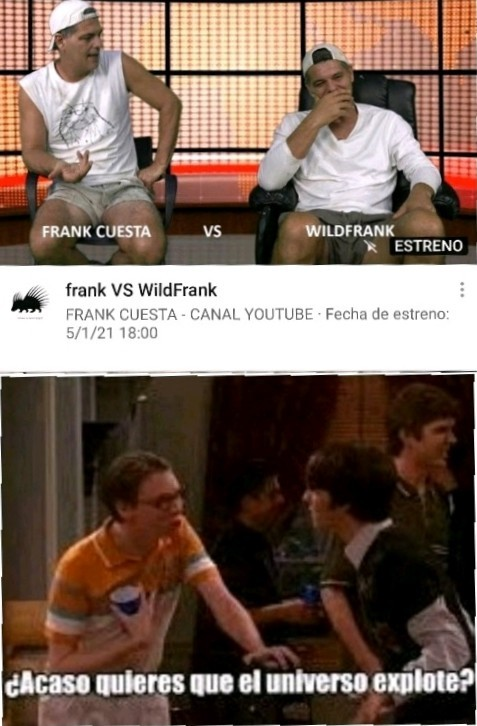 Frank vs WildFrank - meme