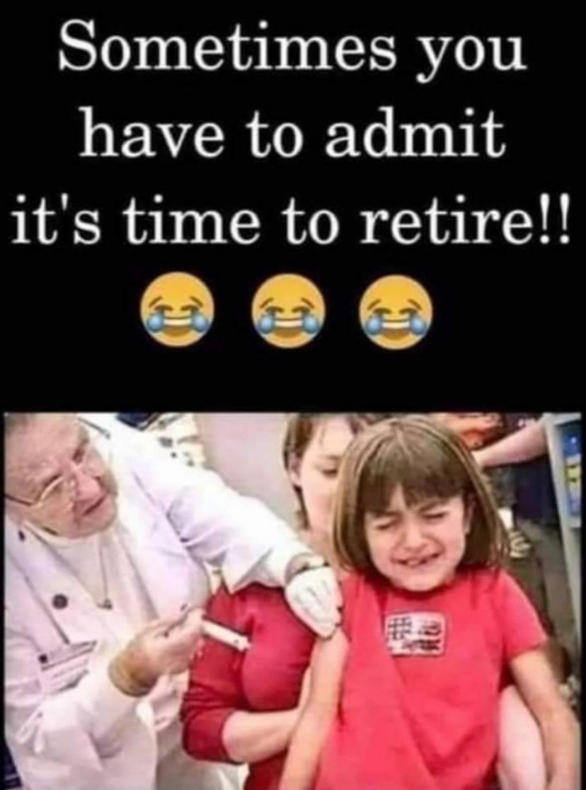 be careful getting those covid vaccines.. might get pricked in the tit lol - meme