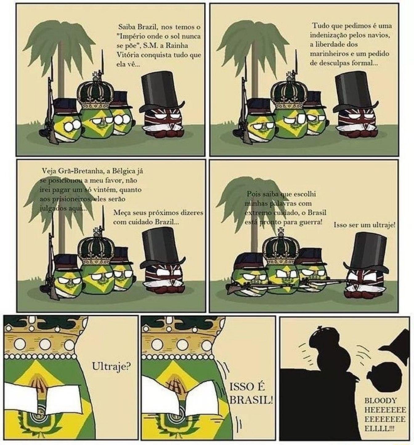 Um complemento do meme desse assunto que eu vi aqui esses dias. Viva a monarquia?