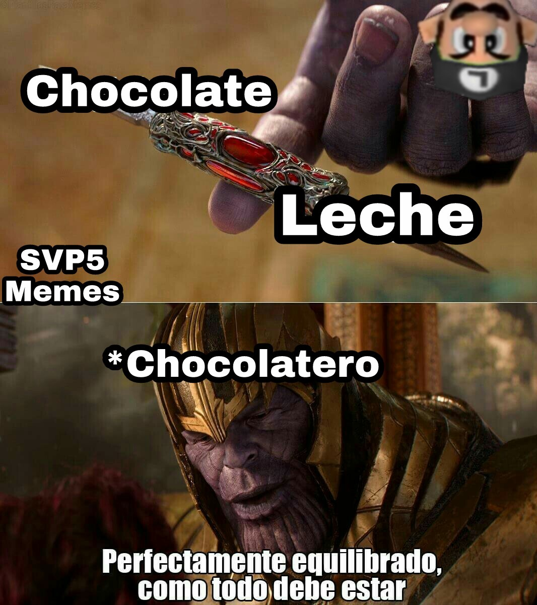 Chocolatitos - meme