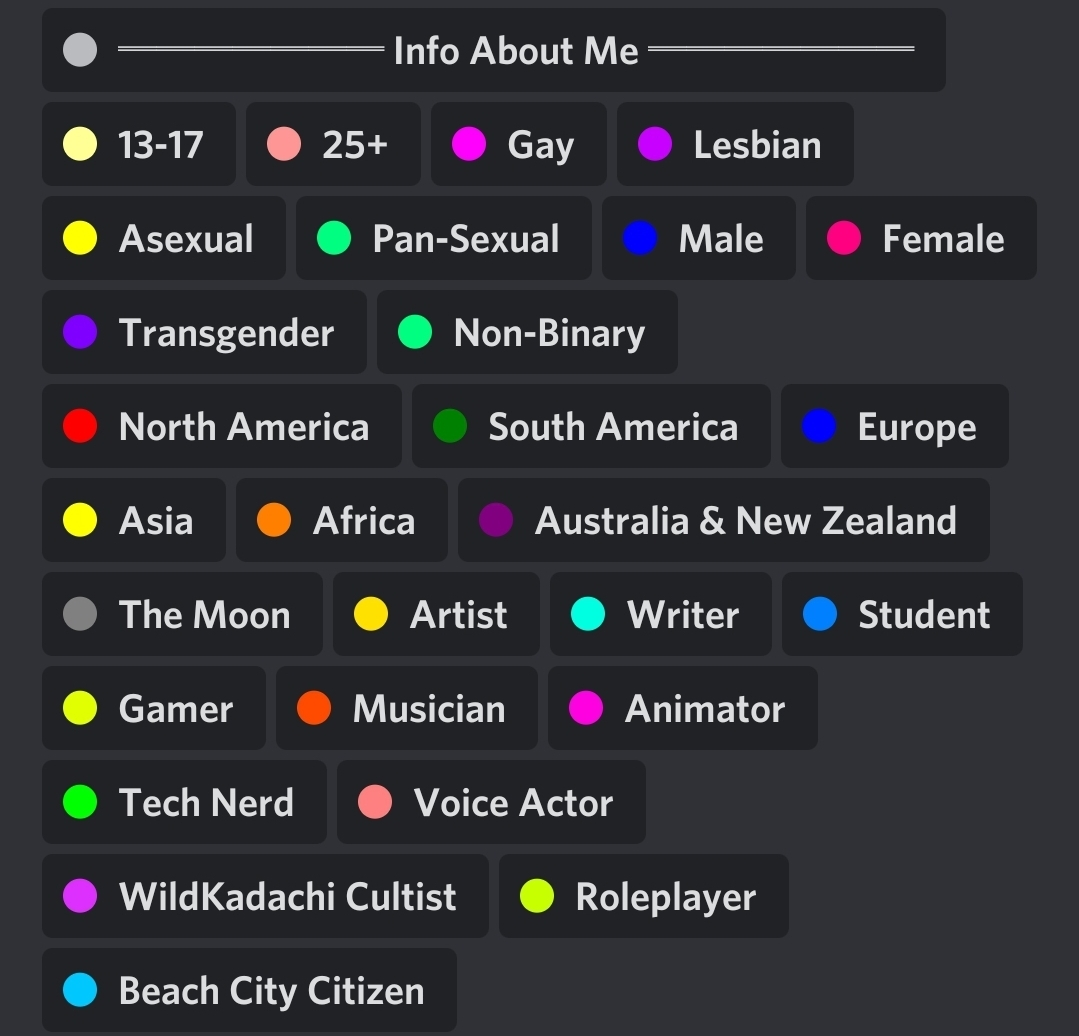 So I looked at this guys roles on Discord and- - meme