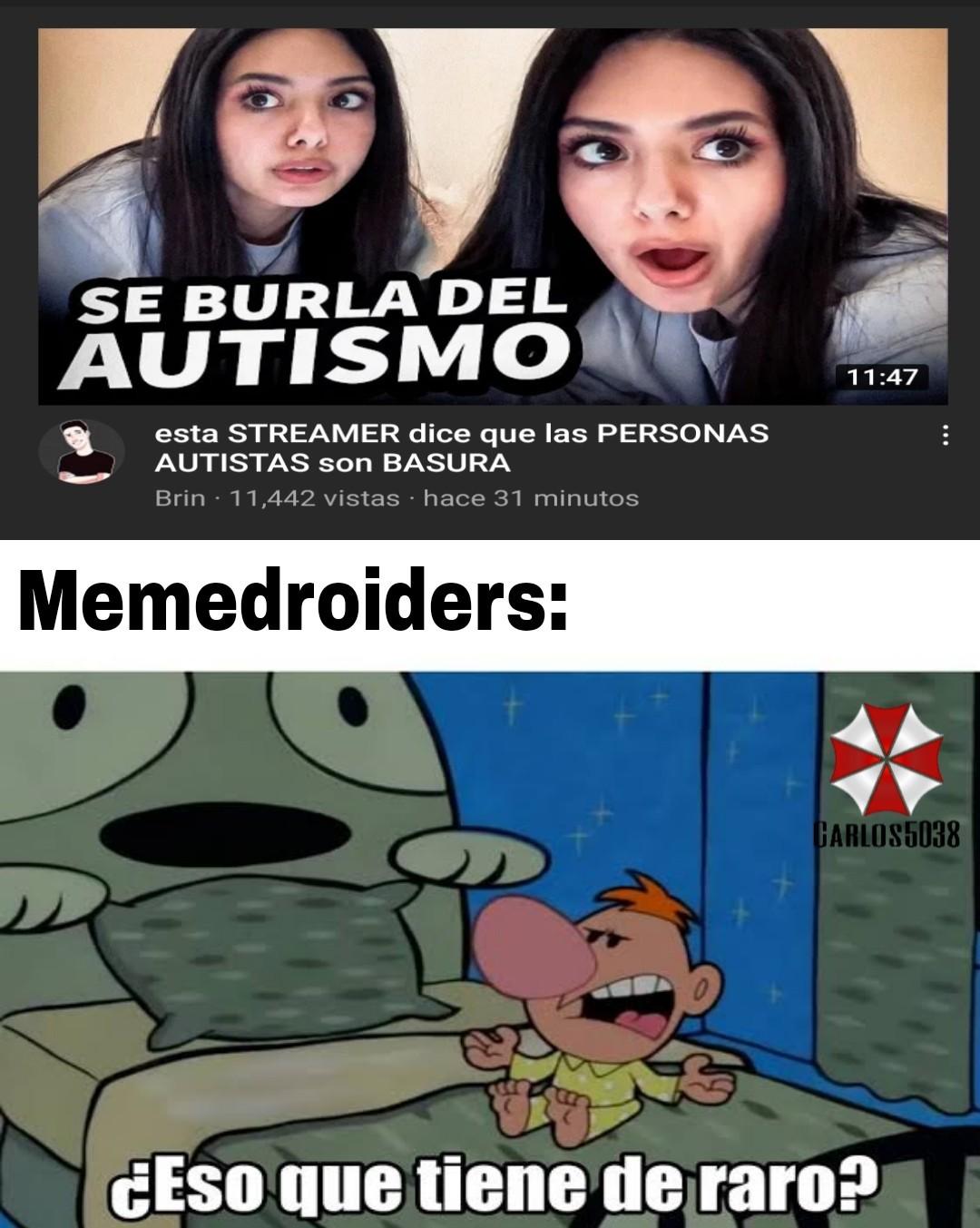Momento hall of autism - meme