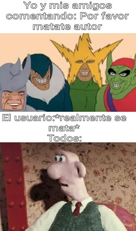 El suicidio - meme
