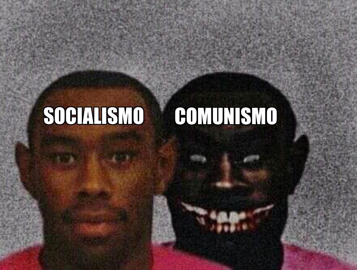 El Socialismo es la versión suave del comunismo - meme