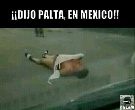 ¡¡NO SE DICE PALTA!! - meme