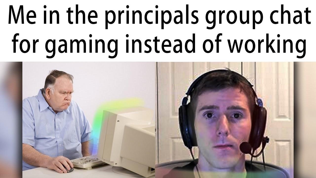 principal - meme