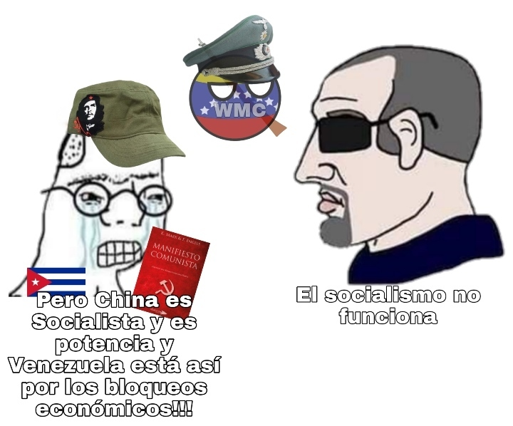 China no es nada Socialista - meme