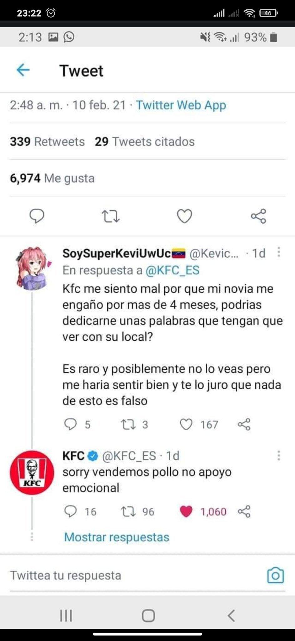 Oigan porque KFC si le sabe? - meme