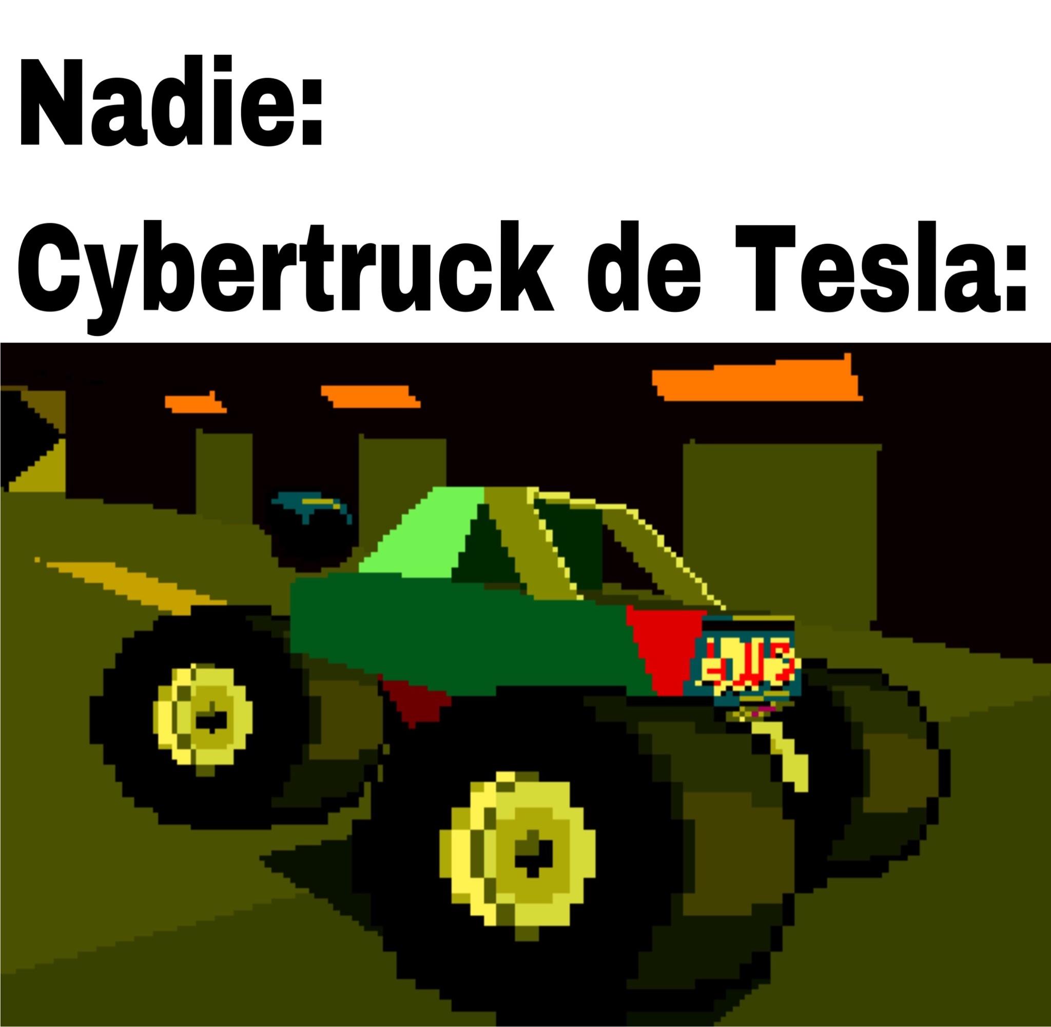 Cybertruck - meme