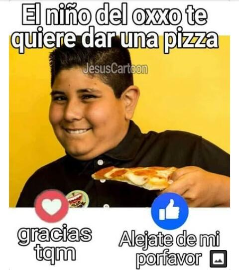 Alejate gordo teton - meme
